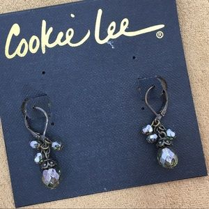 Cookie Lee Jewelry - 🎁 Cookie Lee | Green Crystal Earrings