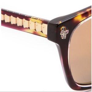 Alexander McQueen Mirrored Sunglasses