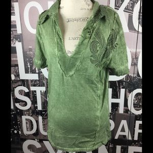 Gypsy 05 Tops - Gypsy 05 green Tunic size Large