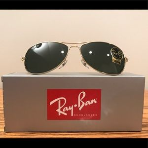 Ray-Ban Cockpit RB3362 001 Gold NWT