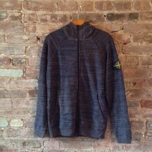 Stone Island Tops - Stone Island official Zip up Hoodie Size L