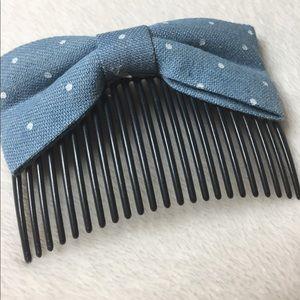 Accessories - Denim Hair Comb