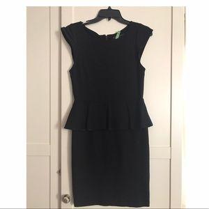 Alice + Olivia Victoria Peplum Dress - Size 4
