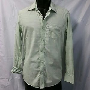 Johnston & Murphy Other - JOHNSTON & MURPHY Slim fit dbl check shirt. Med