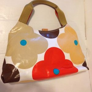 Orla Kiely Big Flower Print Shoulder Bag