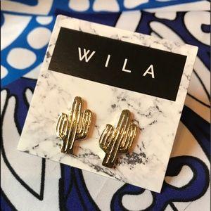WILA Jewelry - Cute Cacti or Pineapple Earring Sets