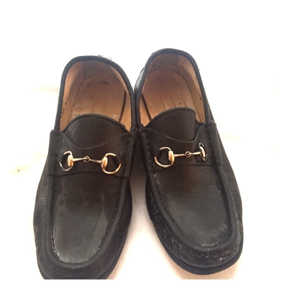how to buy wholesale outlet shop Gucci Horsebit Loafers in Black w/ Silver size 8b