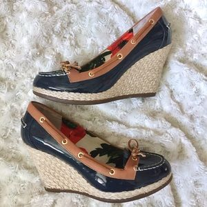 Sperry Top-Sider Shoes - Sperry Top Sider For Milly Patent Wedges