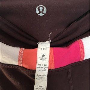 lululemon athletica Pants - Maroon (6 tall) groove pants