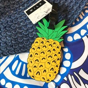 WILA Accessories - Pineapple Luggage Tag
