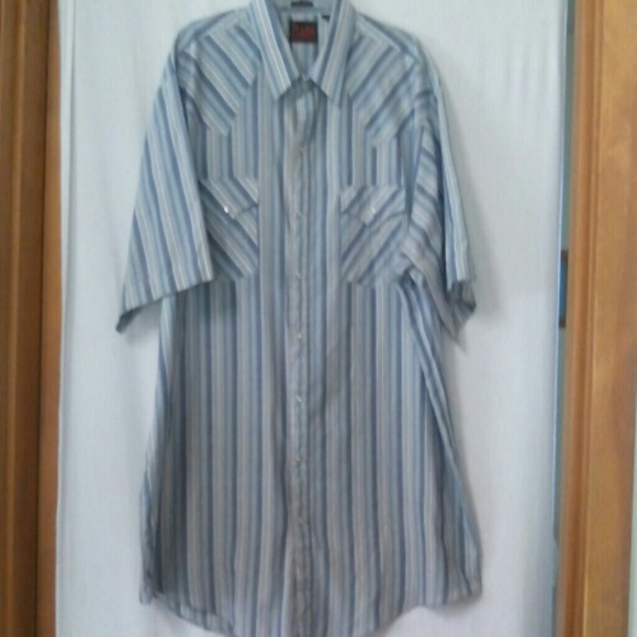 60 off plains other plains western wear mens size xxlt for Mens tall western shirts