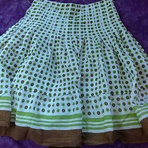 Forever Twenty One Polka Dot Skirt
