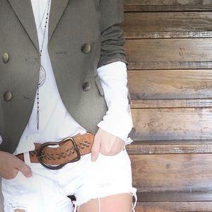 ANTONIO MELANI Jackets & Blazers - Antonio Melani dark green suit jacket