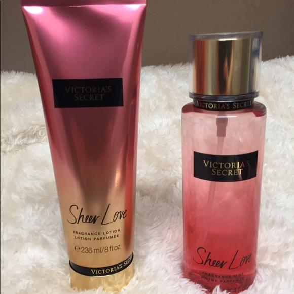 b5abd37759dbd Victoria Secret Sheer Love Set NWT
