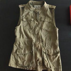 Jackets & Blazers - Green jacket, vest, Parka