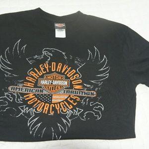 Harley-Davidson Other - Harley Davidson eagle shirt men's large