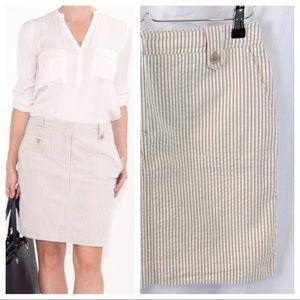 Sandro Dresses & Skirts - Sandro Seersucker Skirt