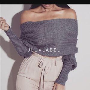 Sweaters - Jluxlabel scarlet sweater wrap