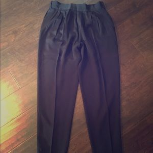 Vintage High Waist Dress Pants