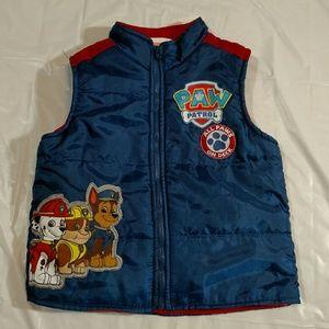 Nickelodeon Other - Nickelodeon Paw Patrol full zip vest size 4T