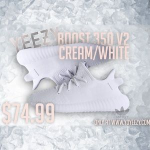 Adidas Other - Yeezy Boost 350 White