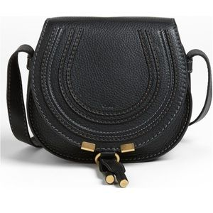 "Chloe Handbags - Chloe ""Mini Marcie"" Leather Crossbody"