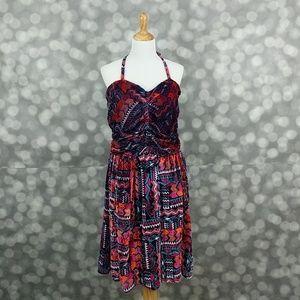 Tucker Dresses & Skirts - Tucker for Target Aztec Velvet Burnout Halter