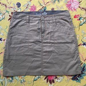 Horny Toad Dresses & Skirts - Horny Toad khaki mini skirt