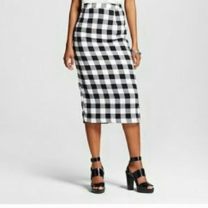 Who WHat Wear Dresses & Skirts - Black and ivory gingham skirt