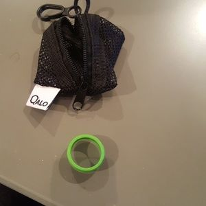 Jewelry - Qalo lime green ring