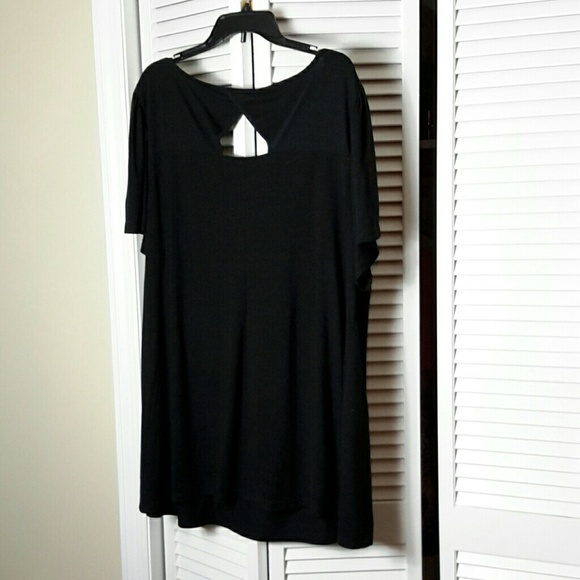 Plus Size Black Tee Shirt 78