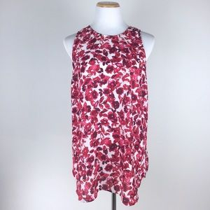 Who What Wear Tops - Who What Wear Size XL Floral Tank Top