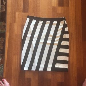 Banana Republic Rugby Stripe Skirt