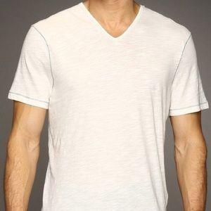 John Varvatos Other - John Varvatos Star USA White V-Neck T-Shirts