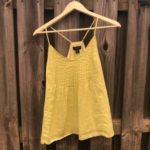 Willi Smith Tops - Lime Green Willi Smith Tank Top