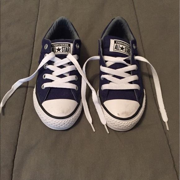 Converse Other - Size 11 Navy Blue Boys Converse Shoes IGC e181fe0b6