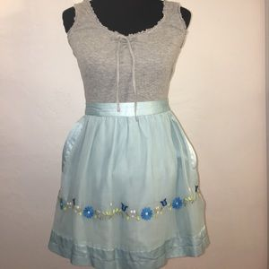 knitted dove Dresses & Skirts - Knitted Dove embroidered silk skirt with pockets