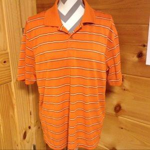 Izod Other - Izod extreme function golf shirt orange large