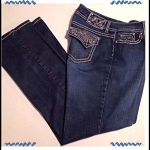 Code Bleu Denim - Code Bleu, Annette Modern Rise Bootcut Jean