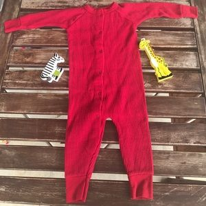 Baby boy or girl pajama onesie