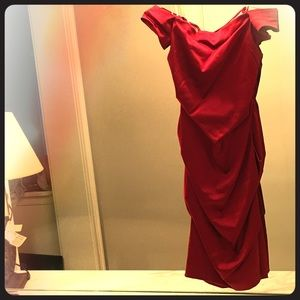 Red Silk & Off the Shoulders ...Need I say More?