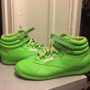 Reebok Shoes - Classic Neon Rebook trainers