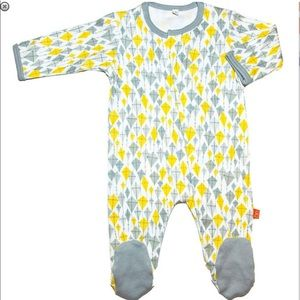 Magnificent Baby Other - Magnificent Baby Magnetic Closure Footie Bodysuit
