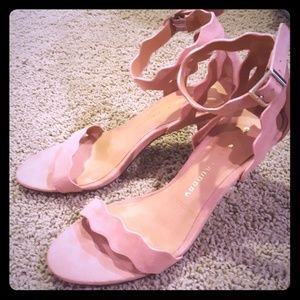 SALE Blush Rosie heels from Chinese Laundry
