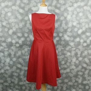 Isaac Mizrahi Dresses & Skirts - Isaac Mizrahi for Target Red Boatneck Dress