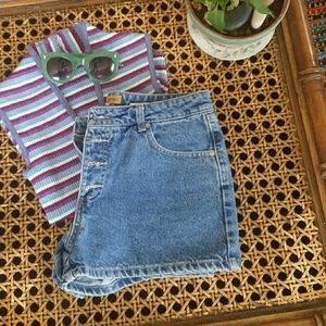 Blue Asphalt Pants - Vintage shorts