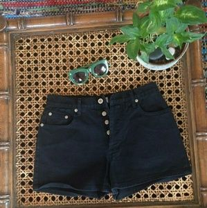 Anchor Blue Pants - Vintage Shorts