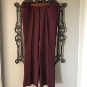 Liverpool Jeans Company Pants - Burgundy Dress Slacks-Brand: Liverpool