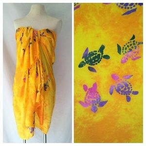 Island X Hawaii Other - SARONG Bathing Suit Cover-Up