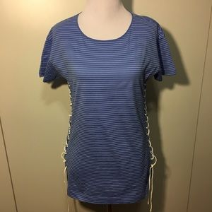 NWOT j.Crew stripped cotton T-shirt